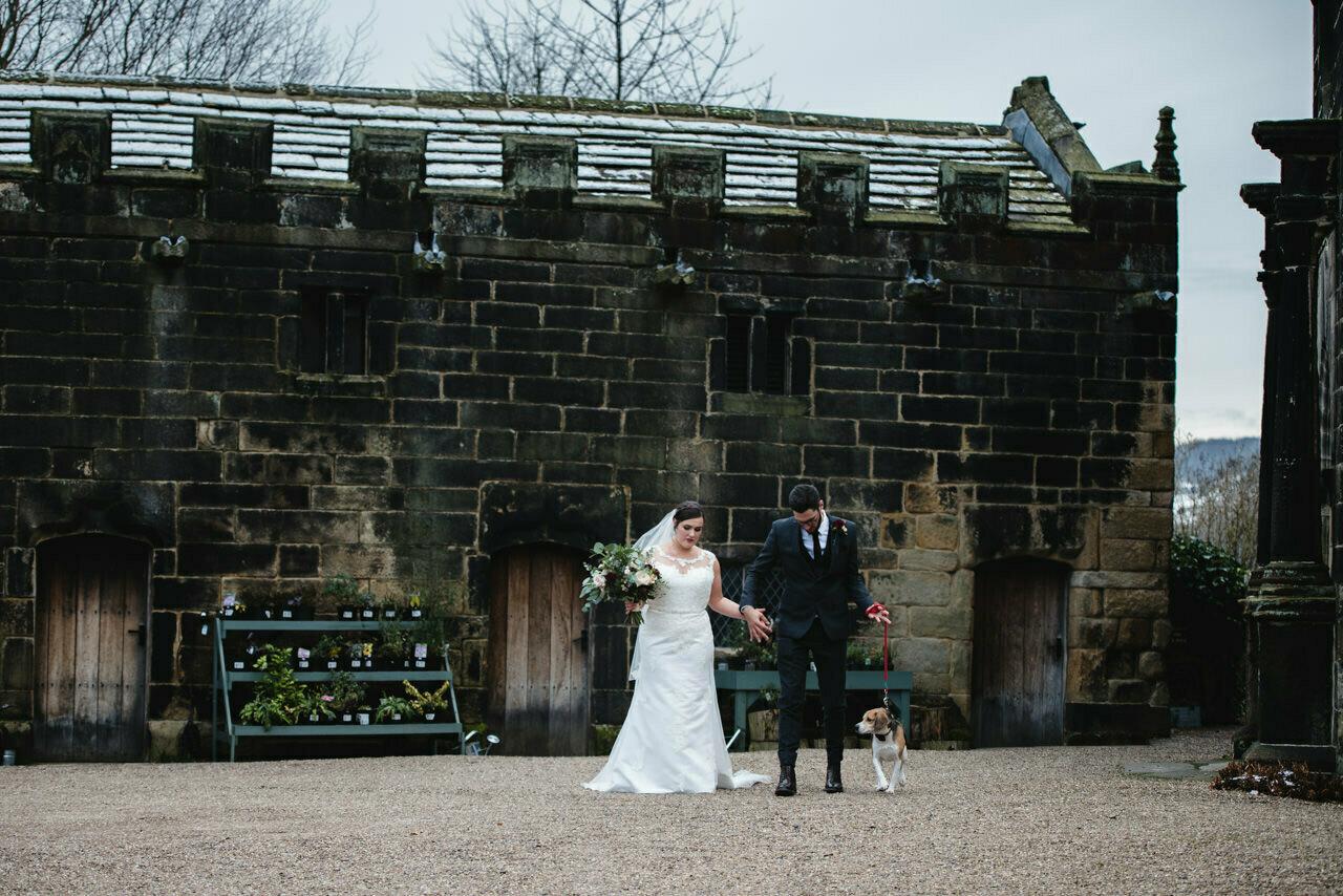 Wedding photography at East Riddlesden Hall Barn 24