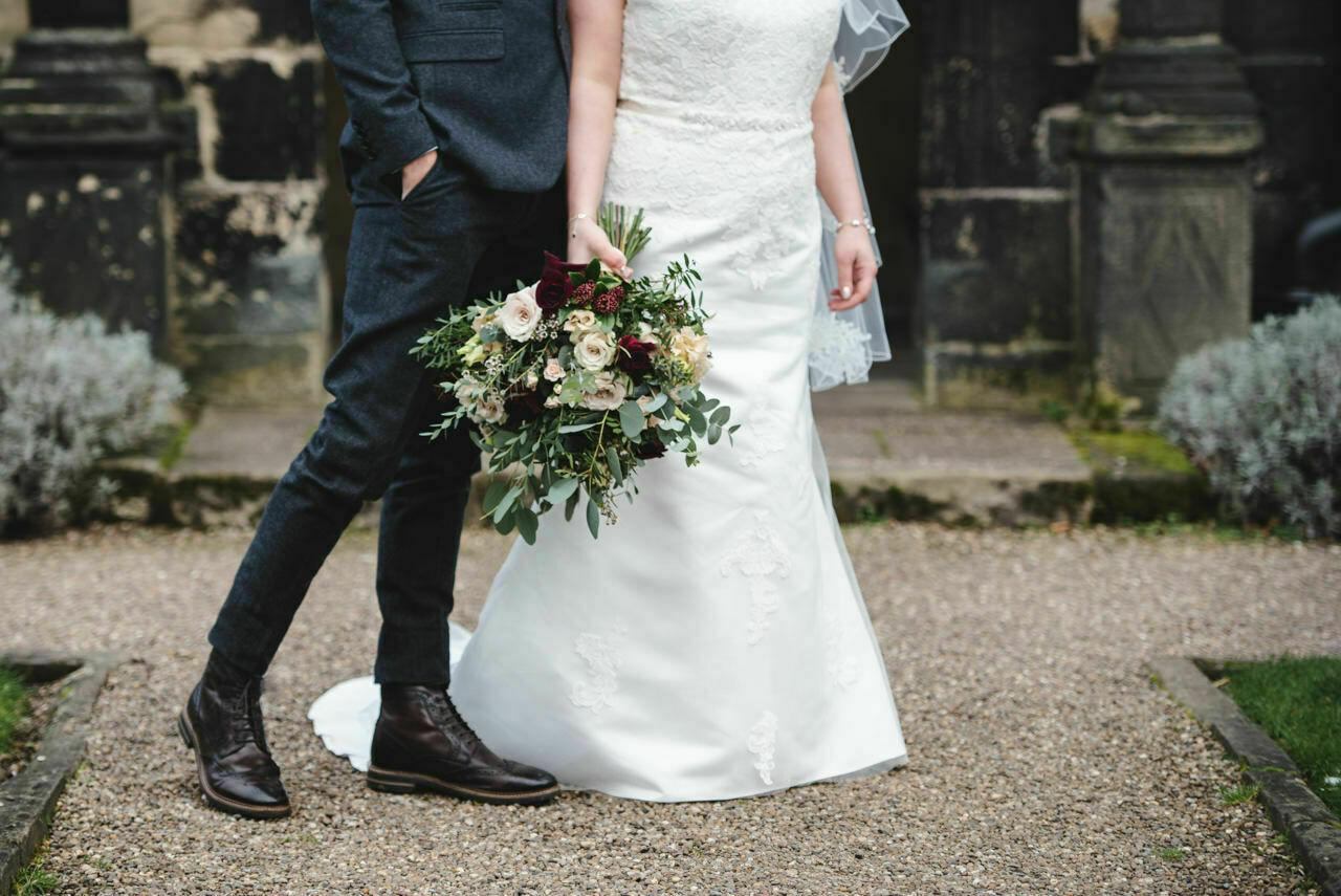Wedding photography at East Riddlesden Hall Barn 31