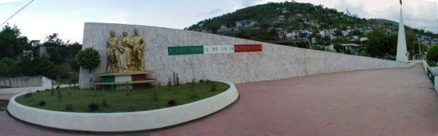 Monumento a Iguala, Hoy en día ya no Existe. DTP NEtwork