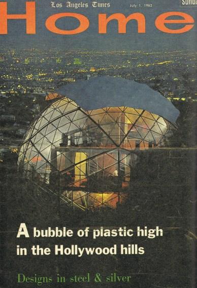 Portada de la revista Los Ángeles Times con una fotografía de la Dome House