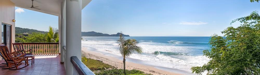 beachfront, surf, panga drops ,nicaragua