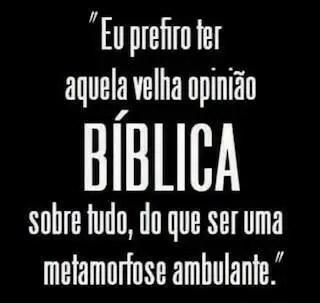 opiniao biblica