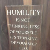 Image result for humility is not thinking less of yourself but thinking of yourself less