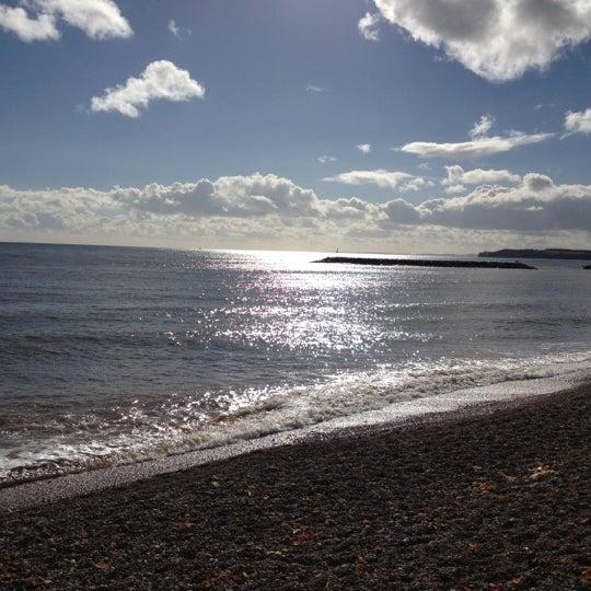 Sidmouth Beach Sidmouth Devon