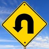 U-turn arrow