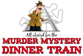 Murder Mystery Train logo
