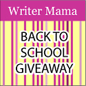 Writer Mama Back to School Giveaway Badge