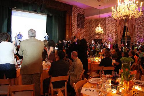 CBE Gala standing ovation