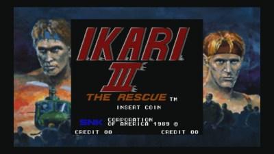 IKARI III Menu