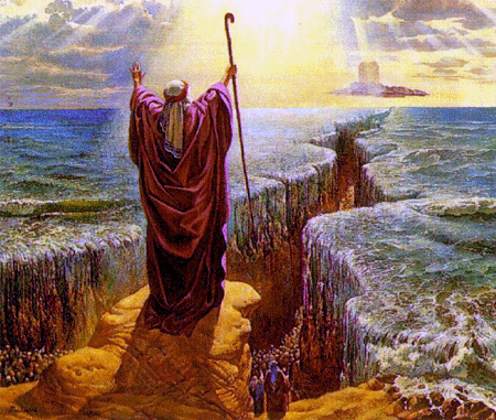 splitting of the red sea