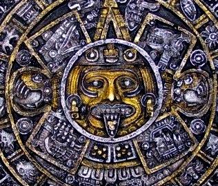 sun aztec maya