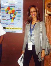 Sophia Bekele in Nairobi ICANN