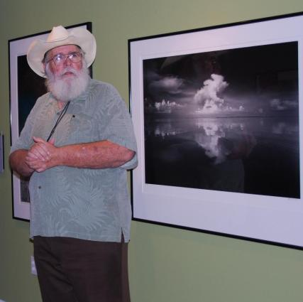 Clyde Butcher in exhibit