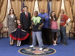Cory in the House with John as the President