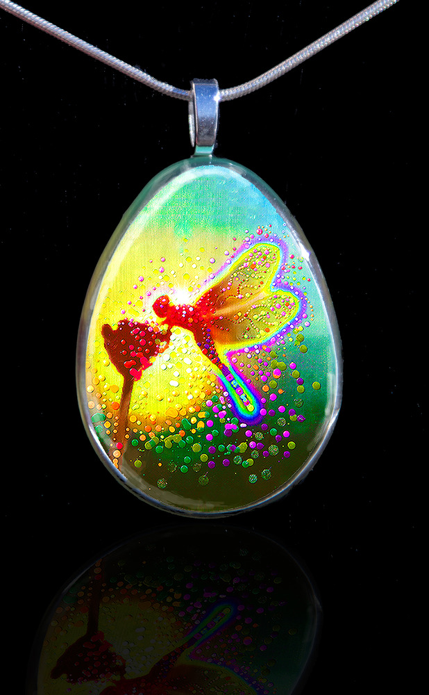 Dragon Fairy Pendant