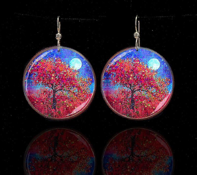 Harvest Moon Earrings Brighter