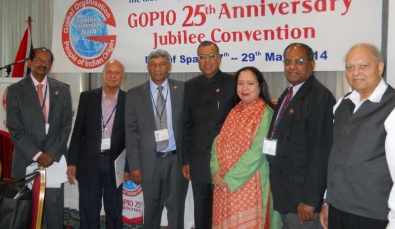 GOPIO Officials with High Commissioner Gauri S. Gupta