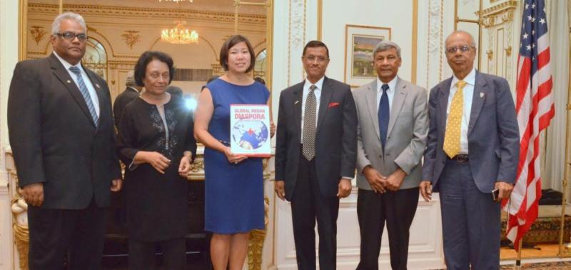 Indian Consulate in New York reception dinner for US Congresswoman Grace Meng