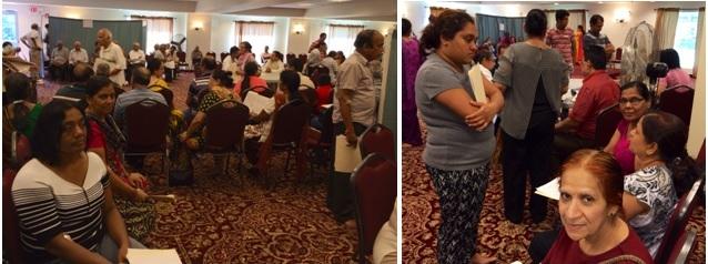 GOPIO-Central Jersey Health Camp at Durga Mandir, Princeton, NJ