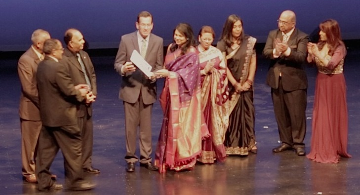 CT Governor Dan Malloy at MIss India Pageant in Hartford