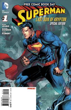 Superman FCBD by Kubert