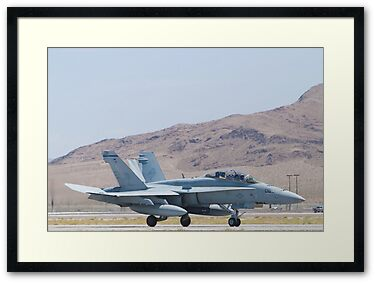 165415 F/A-18D Hornet Landing Large Print