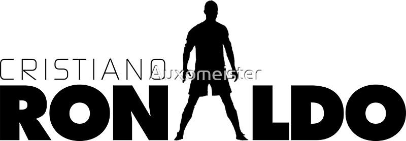 Cristiano Ronaldo Stickers By Auxomeister Redbubble