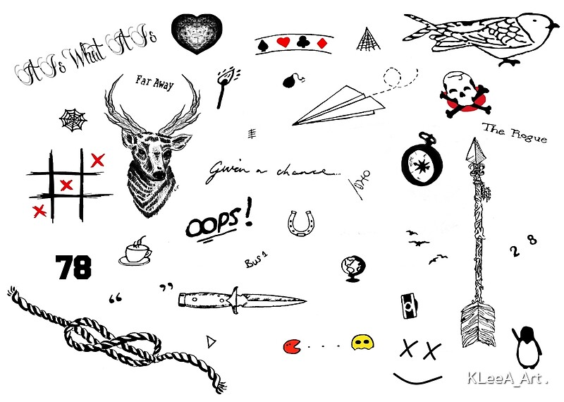 """Louis Tomlinson Tattoos (2016 Updated)"" Art Prints By"