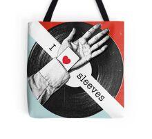 I Love Sleeves Tote Bag