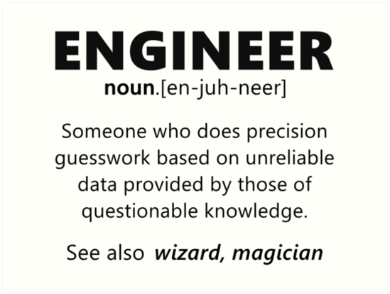 Engineer Funny Definition By Dragonspirit