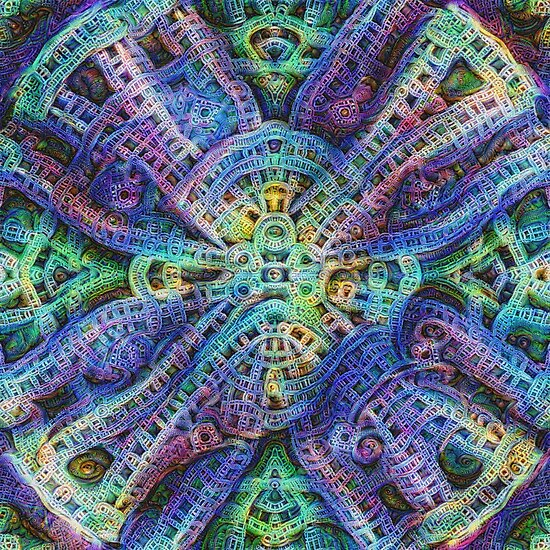 #DeepDream Temple
