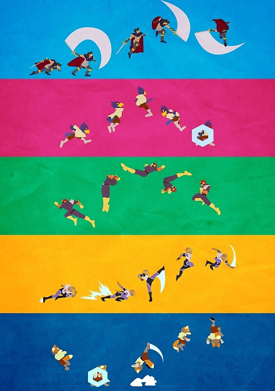 Simply Melee Poster One Posters By Simplesmash Redbubble