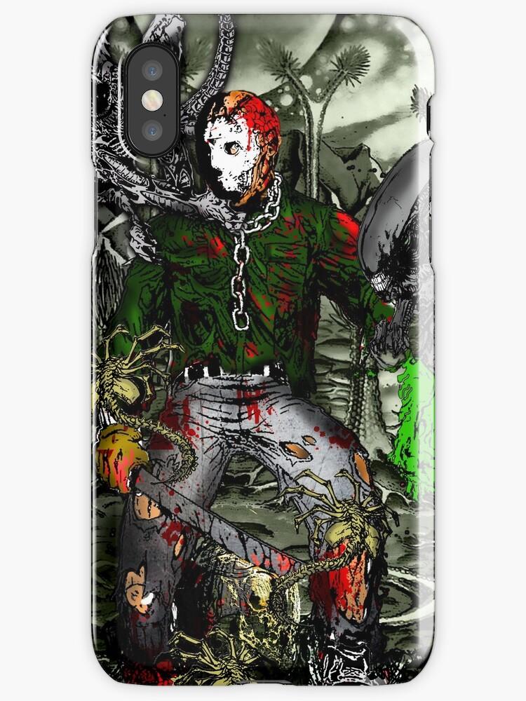Jason Voorhees Vs Xenomorph Aliens IPhone Cases Amp Skins