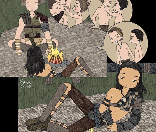 Agron Tells Nasir Stories Nagron Spartacus By Figbash
