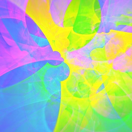 Bright #Fractal Art