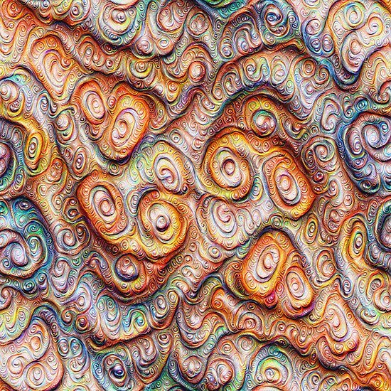 Frozen Abstract Energy #DeepDream #Art