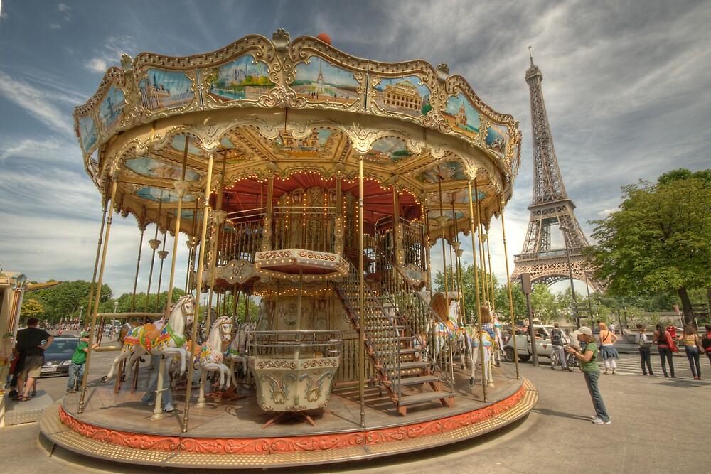 Paris Carousel By Craig Goldsmith Redbubble