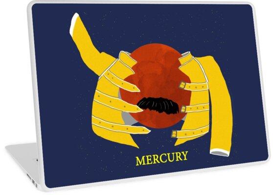 Freddie Mercury laptop skin