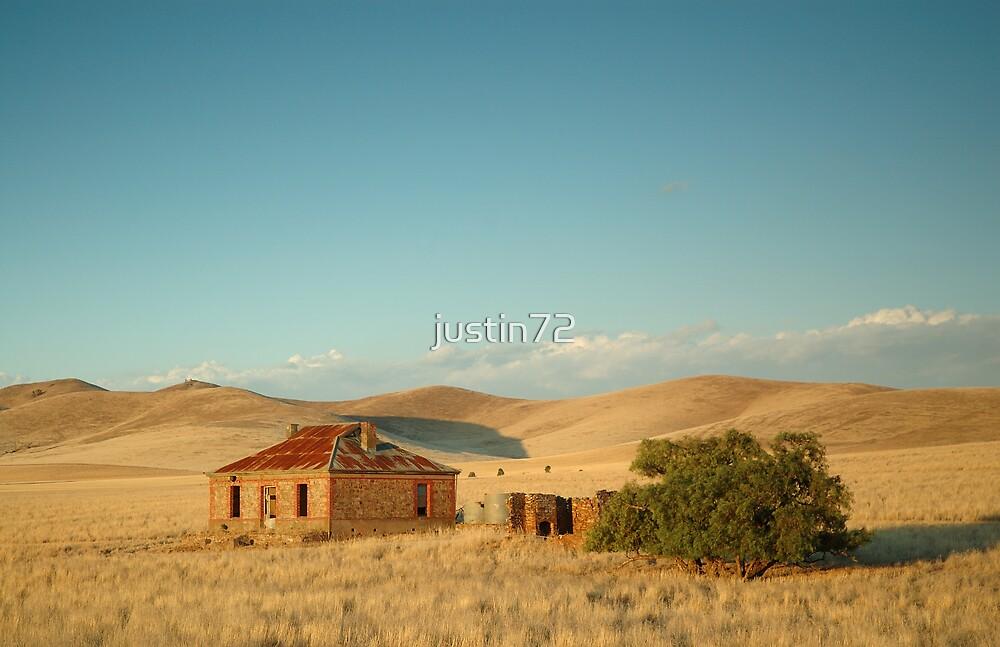 Deserted Farmhouse Burra South Australia By Justin72