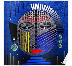 'Tribal Whimsy 12' Poster by Glen Allison