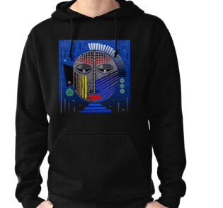 'Tribal Whimsy 12' Lightweight Hoodie products by renowned vagabond fine art travel photographer, Glen Allison