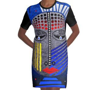 'Tribal Whimsy 12' Graphic T-Shirt Dress products by renowned vagabond fine art travel photographer, Glen Allison