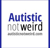 Image result for autistic not weird logo