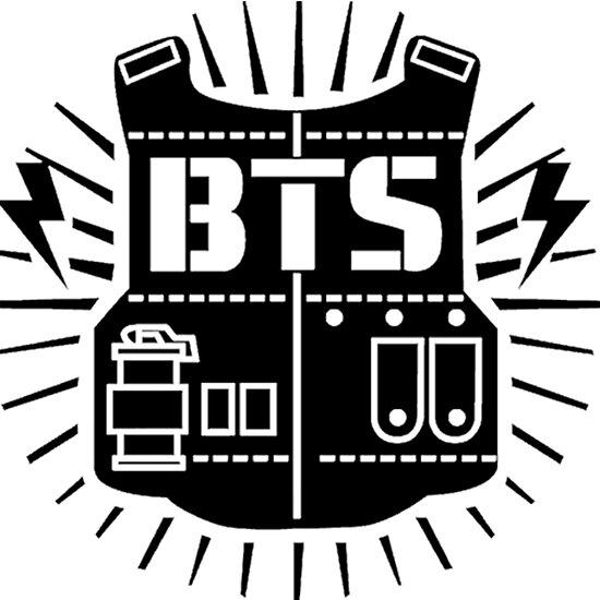 Download 最良かつ最も包括的な K Pop Bts Logo - 顎わねため