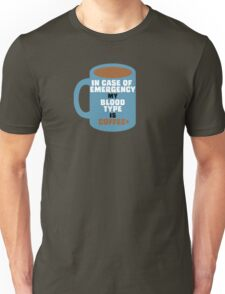 My Blood Type is Coffee+ T-Shirt