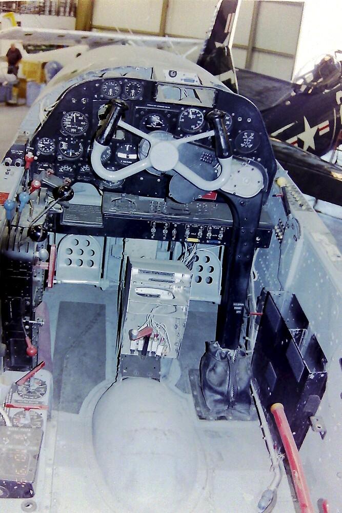 Cockpit Lockheed P38 Lightning By Mike Edwards Redbubble