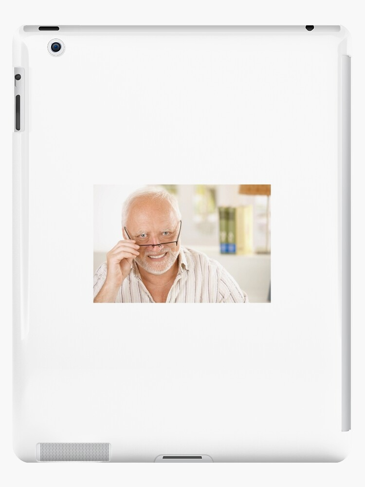 Hide Your Pain Harold Glasses Down Smile Ipad Case Skin By