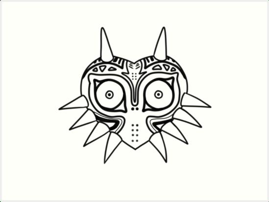 Large Mask Majoras Size