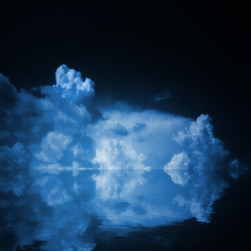 Blue Clouds by Philippe Sainte-Laudy
