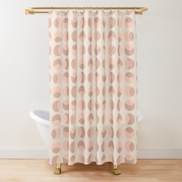 circle pattern shower curtains redbubble